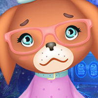 Free online html5 games - G4K Funny Little Puppy Escape game