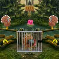 Free online flash games - 8bGames Thanksgiving Turkey Escape