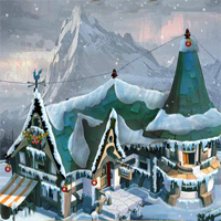 Free online flash games - EnaGames The Frozen Sleigh-John Home Escape game - WowEscape