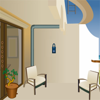 Free online flash games - Balcony Escape