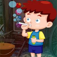Free online flash games - G4k Bubble Boy Rescue  game - WowEscape