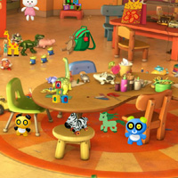 Free online flash games - Kindergarten Hidden Objects