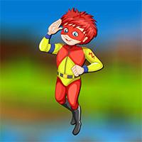Free online flash games - AVMGames Superpower Boy Escape