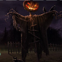 Free online flash games - Spooky Magic Halloween Escape game - WowEscape
