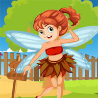 Free online flash games - G4K Fairy Girl Rescue game - WowEscape