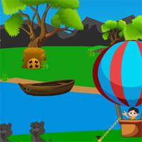 Free online flash games - Avm Cute Boy Parachute Escape game - WowEscape