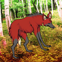 Free online flash games - G2R Red Wolf Forest Escape