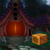 Free online flash games - Forest Hut Escape 2 Games4King