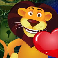 Free online flash games - G4k Lion Love Escape