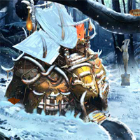 Free online flash games - EnaGames The Frozen Sleigh-The IMP House Escape game - WowEscape