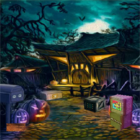 Free online flash games - Halloween Find The Golden Knife game - WowEscape
