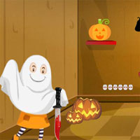 Free online flash games -  Top Escape From Ghost House