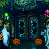 Free online flash games - 8bGames Halloween House Escape