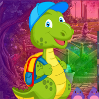 Free online flash games - Games4king Baby Dino Escape game - WowEscape