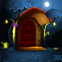 Free online flash games - Midnight Garden Escape MirchiGames