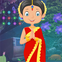 G4K Traditional Indian Girl Rescue