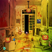 Free online flash games - Top10NewGames Halloween Vampire House Escape