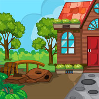 G4K Cartoon Garden House