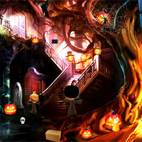 Free online flash games - Top10NewGames Strange Halloween Escape