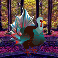 Free online flash games - Games2rule Fantasy Turkey Forest Escape game - WowEscape