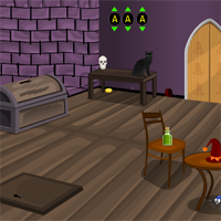Haunted Room Escape 1