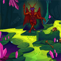 Free online flash games - EnaGames The Circle-Crystal Cave Escape