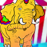 Free online flash games - The Circus Elephant Rescue