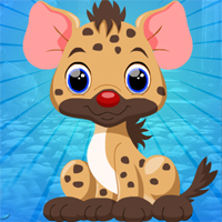 Free online flash games - Games4King Little Hyena Escape
