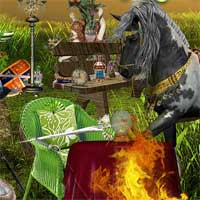 Free online flash games - The Mysterious Raiders Hidden247 game - WowEscape