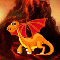 Free online html5 games - Dragon Hawaii Volcano Escape HTML5 game