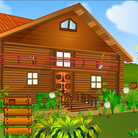 Locked Wooden House Escape 5nGames