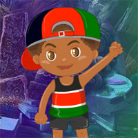 Free online flash games - Games4King Kenya Boy Escape game - WowEscape