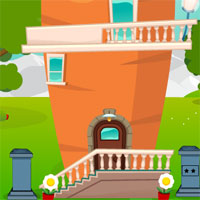Free online flash games - GFG Carrot House Bunny Rescue Escape game - WowEscape
