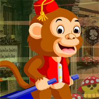 Free online flash games - G4k Labour Monkey Rescue