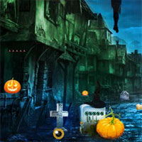 Free online flash games - Top10 Escape From Church Cemetery