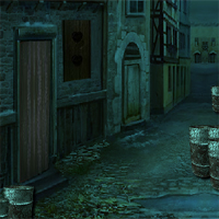 8bGames Dark Street Escape