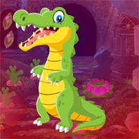 Games4King Pretty Crocodile Rescue