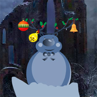 Free online flash games - Medieval Land Christmas Escape