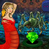 Fantasy Snake Pearl Rescue Games2rule