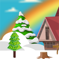 Free online flash games - Winterland Easter Bunny Rescue game - WowEscape