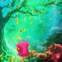Free online flash games - Underwater Moorish idol Escape game - WowEscape