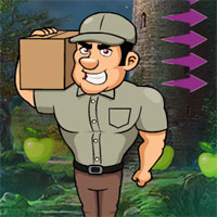 Free online flash games - G4K Delivery Guy Escape