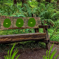 Free online flash games - Big Wooden Bench Forest Escape