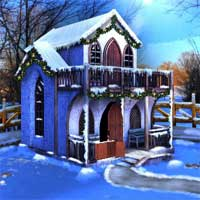 Free online flash games - EnaGames The Frozen Sleigh-The Roof Escape game - WowEscape