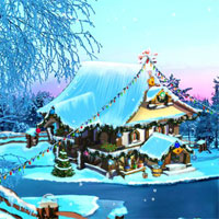 Free online flash games - Ena The Frozen Sleigh-A Bridge Over The River Esca