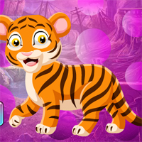 Free online html5 games - Games4King Elegant Tiger Escape game