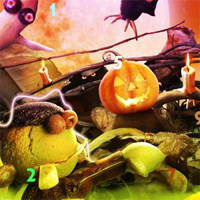 Free online flash games - Fantasy Halloween Hidden Numbers