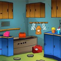 Kitchen Backyard Escape GenieFunGames