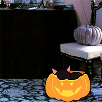 Free online flash games - GFG Abandoned Halloween Party Escape