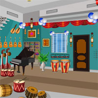 Escape From Musical Instruments Shop KnfGame